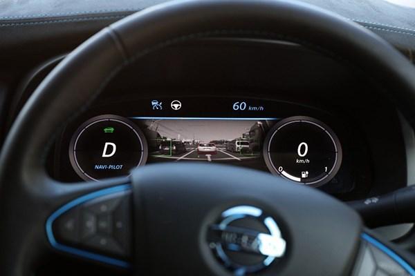 In Zukunft werden Elektroautos noch mehr mit ihen Fahrern kommunizieren. Bildquelle: Nissan