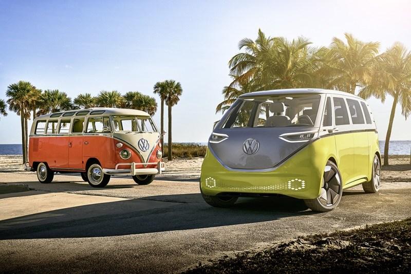 Das Elektroauto VW I.D. Buzz wird wahrscheinlich über eine Reichweite von mindestens 533 Kilometern verfügen. Bildquelle: Volkswagen