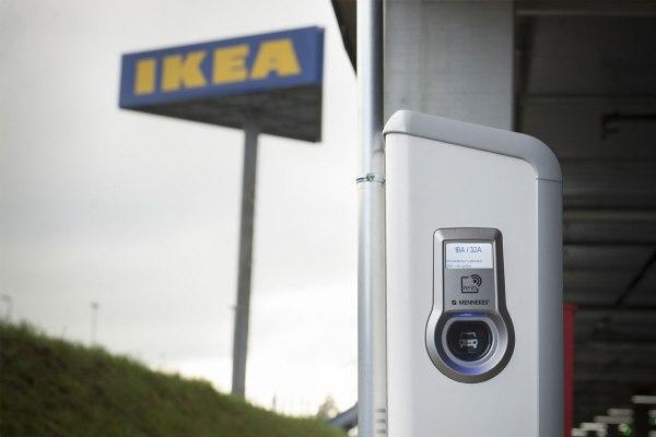 IKEA Schweiz setzt beim Aufladen von Elektroautos auf Mennekes. Bildquelle: Mennekes