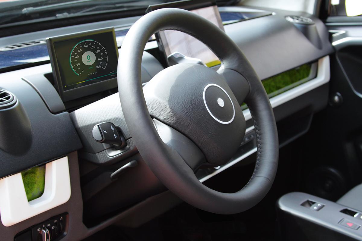 Elektroauto Sono Motors Sion interieur - Mein Elektroauto