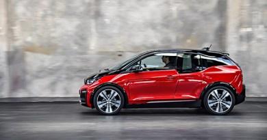 Elektroauto BMW i3s seitlich. Bildquelle: BMW