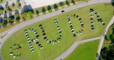 Die Luftaufnahme stammt von einer vergangenen Rallye von eRuda. Bildquelle: eRuda.de