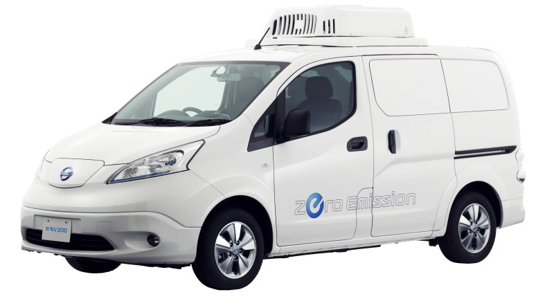 Elektroauto Nissan e-NV200 Fridge Concept. Bildquelle: Nissan
