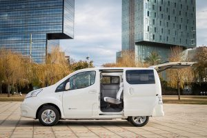 In Europe, the new generation of electric car Nissan e-NV200 celebrated its European premiere, it has much more range. Source: Nissan