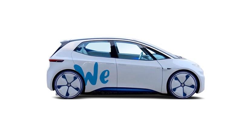 VW startet Zero Emission Carsharing-Dienst. Bildquelle: Volkswagen AG