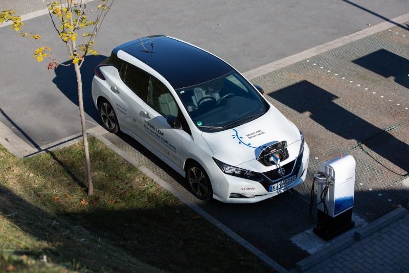 Nissan Leaf - Das mobile Kraftwerk. Bildquelle: Nissan