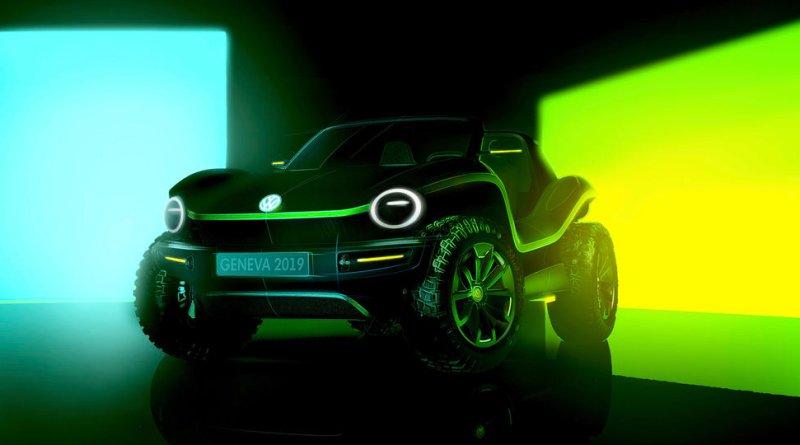 Elektroauto Volkswagen ID. BUGGY Showcar. Bildquelle: Volkswagen AG