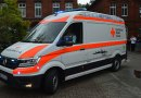 Auf Borkum wird ab sofort ein Elektroauto als Rettungswagen eingesetzt