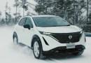 Das Elektroauto Nissan Ariya verfügt über eine Fahrspaßgarantie