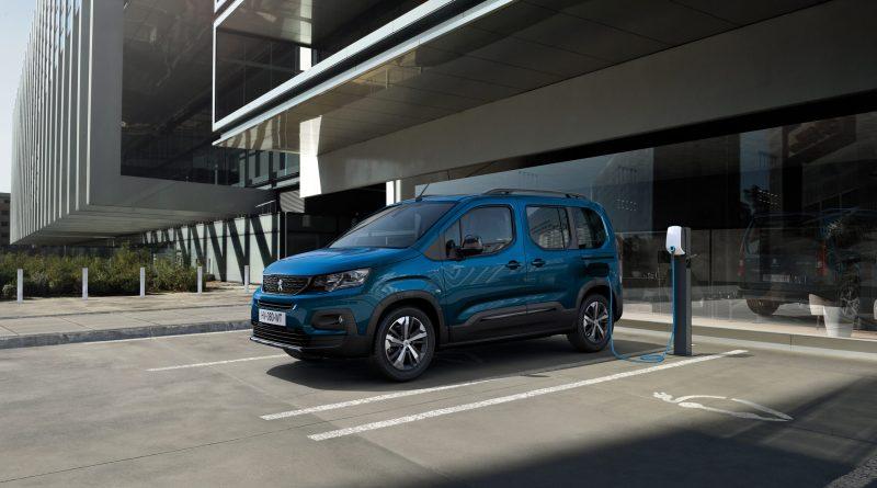Elektroauto Peugeot e-Rifter. Bildquelle: Peugeot