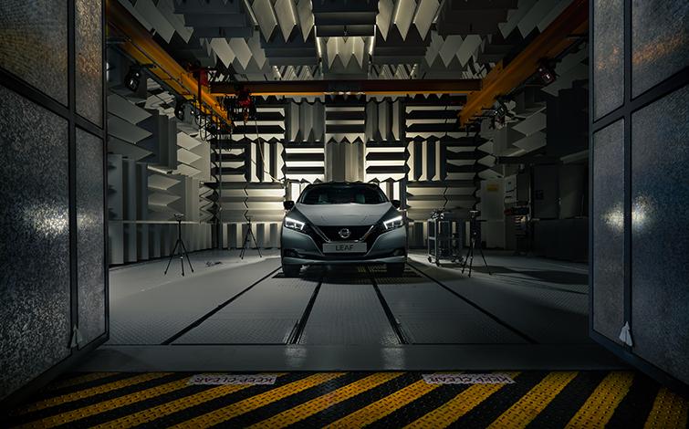 Elektroauto Nissan Leaf verfügt nun über AVAS Canto. Bildquelle: Nissan