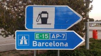 Tankstelle an der AP7