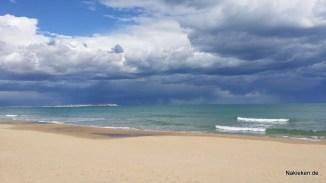 Guardamar am Strand