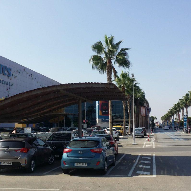 Dos Mares Parkplatz