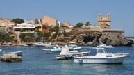Der Hafen von Tabarca