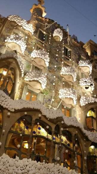 Casa Batllo zu Weihnachten