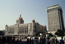 Taj Hotel in Bombay