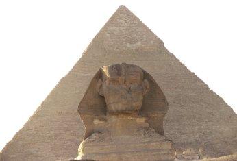 Pyramide und Sphinx von Gizeh
