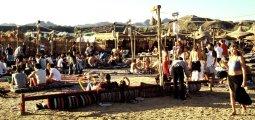Strandszene in Sharm el-Sheikh