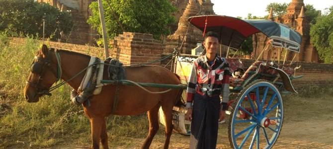 A horsecart for Naing Naing from Bangan (Burma / Myanmar)