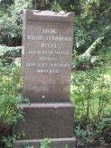 Grabstein Georg Wilhelm Friedrich Hegel