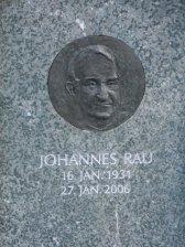 Grabstein Johannes Rau