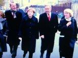 Angela Merkel, Klaus Wowereit