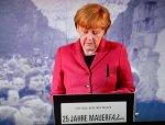 Angela Merkel bei 25 Jahre Mauerfall