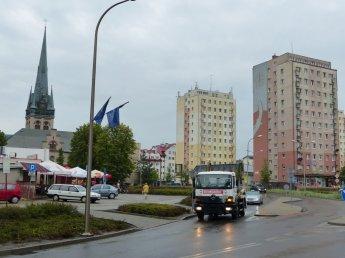 Usedom - Stadtbild Swinemünde
