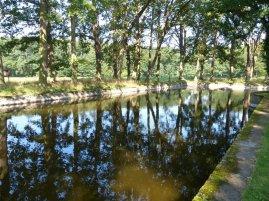 Usedom - Wasserschloss Mellenthin Wassergraben