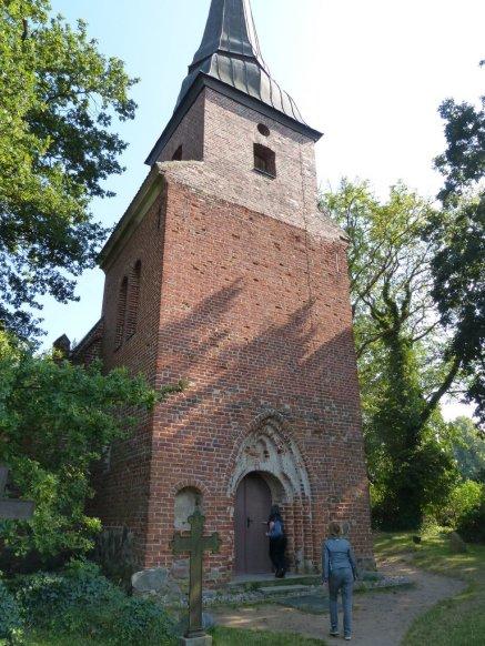 Usedom - Kirche bei Mellenthin