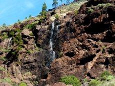 Trockener Wasserfall