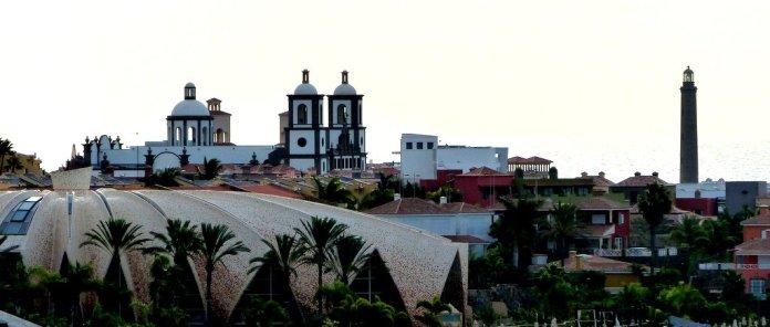 Die Kopie von San Sebastian im Lopesan Hotel in Meloneras