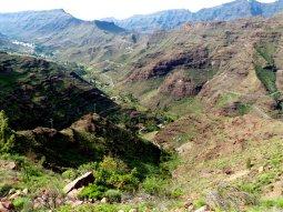 Grandiose Berglandschaft in der Inselmitte