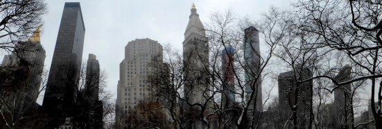 Winterliches Manhattan