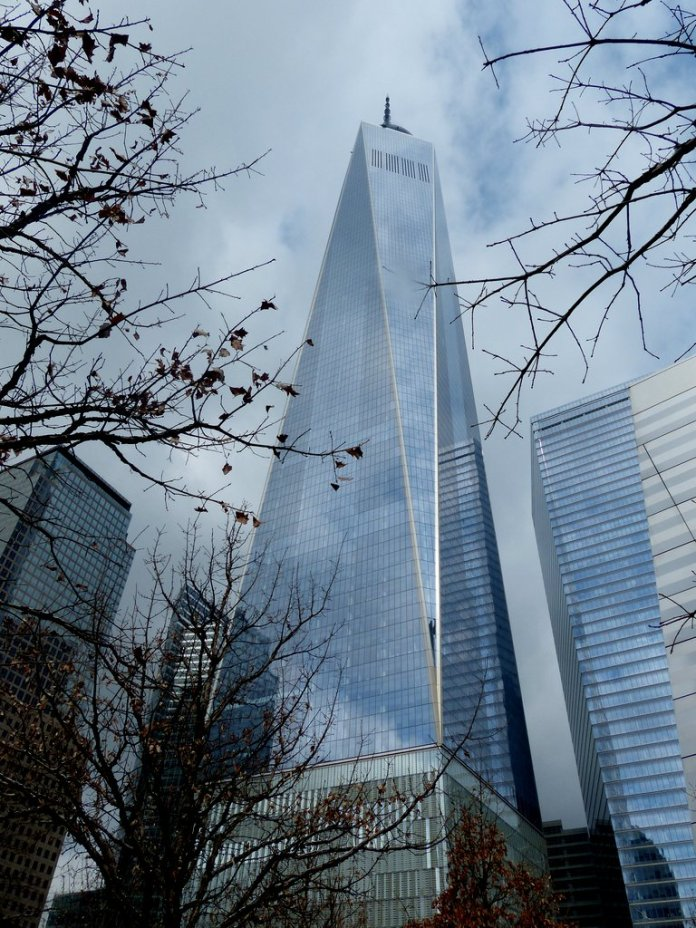 World Trade Center mit Nachbarn