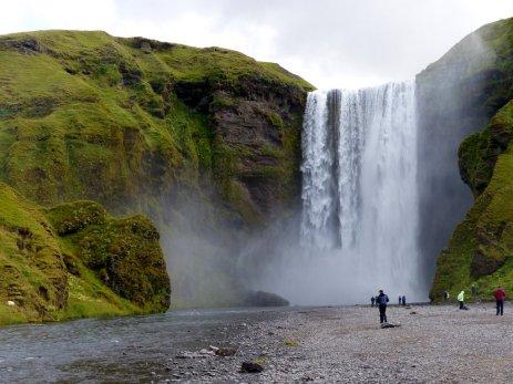Wasserfall Skogafoss - Island
