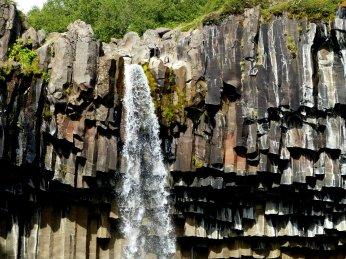 Wasserfall Svartifoss - Island