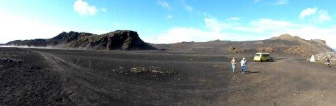 Lavawüste im Hochland - Island
