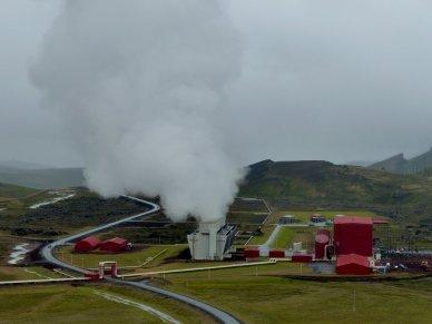 Geothermalfabrik - Island