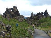 Burg der Trolle - Island