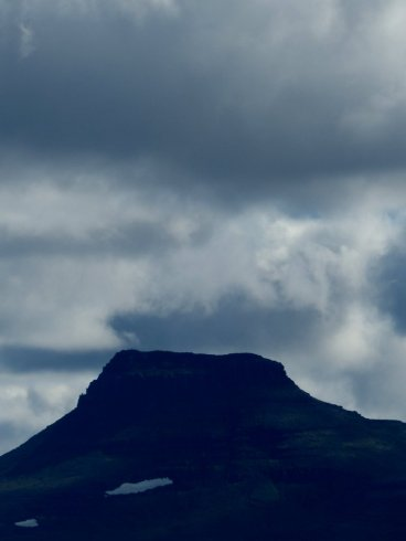 Ruhiger Vulkan - Island