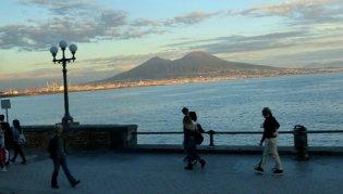 Abendstimmung am Golf von Neapel