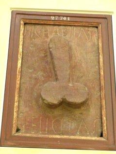 Erotische Kunst aus Pompeji
