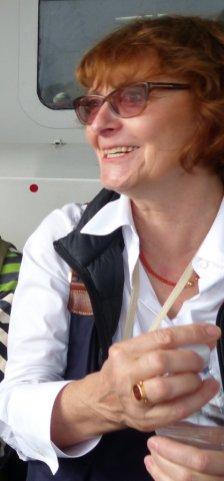 Reiseleiterin Andrea Welz