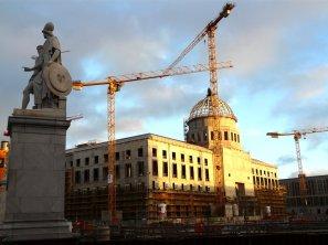 Baustelle Neues Schloss