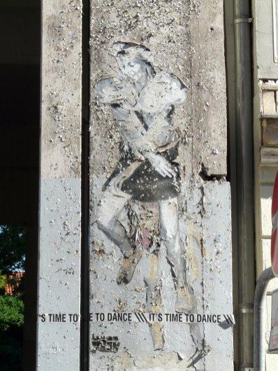 Street Art in der Auguststr.