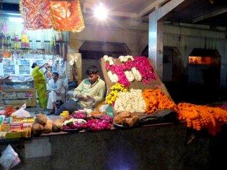 nächtlicher Blumenmarkt