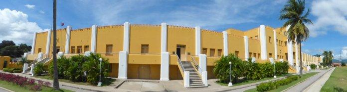 Moncanda Kaserne und heute Revolutionsmuseum