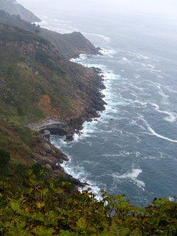 Wilde Rückseite des Monte Igeldo